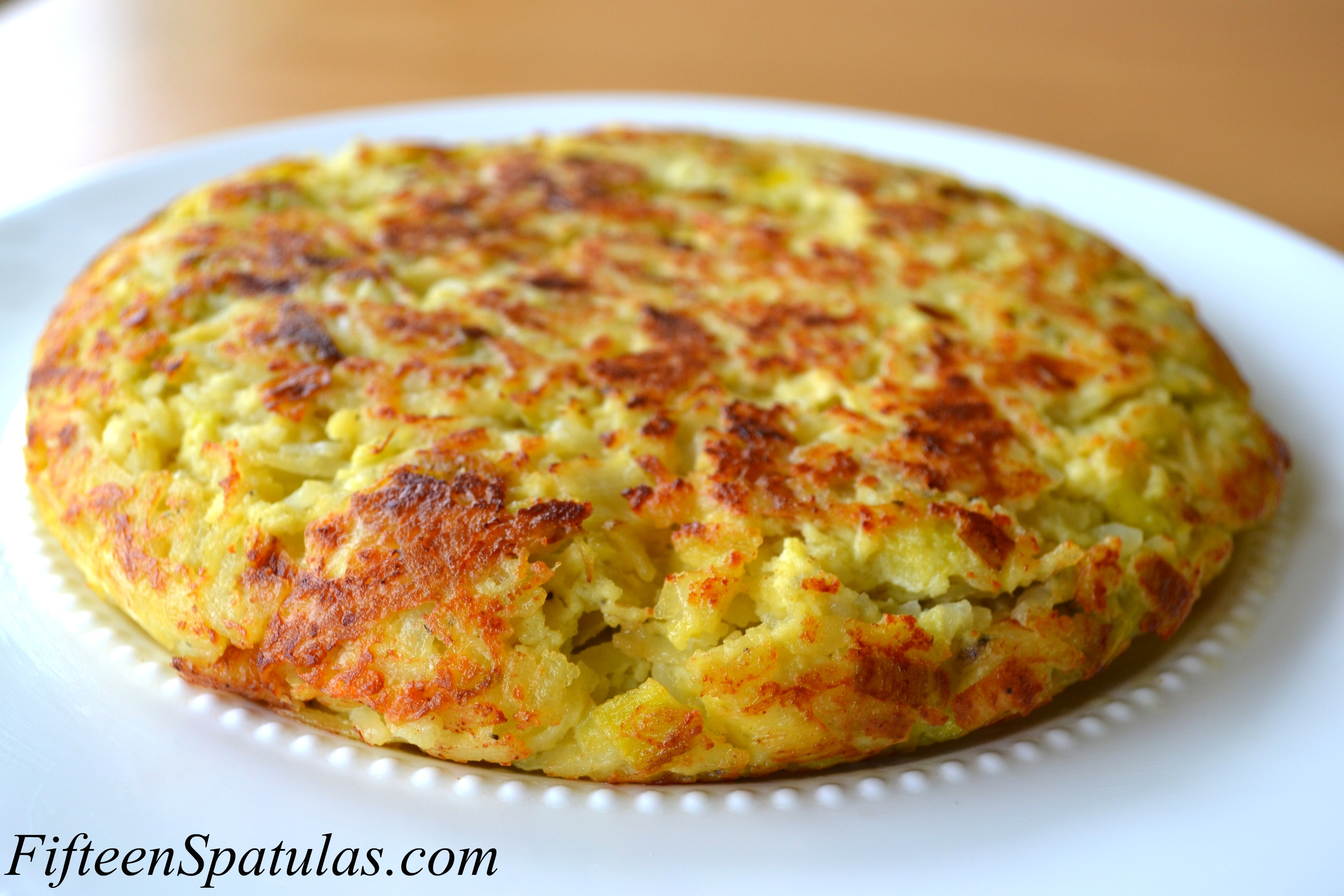 Leek Manchego Spanish Tortilla |