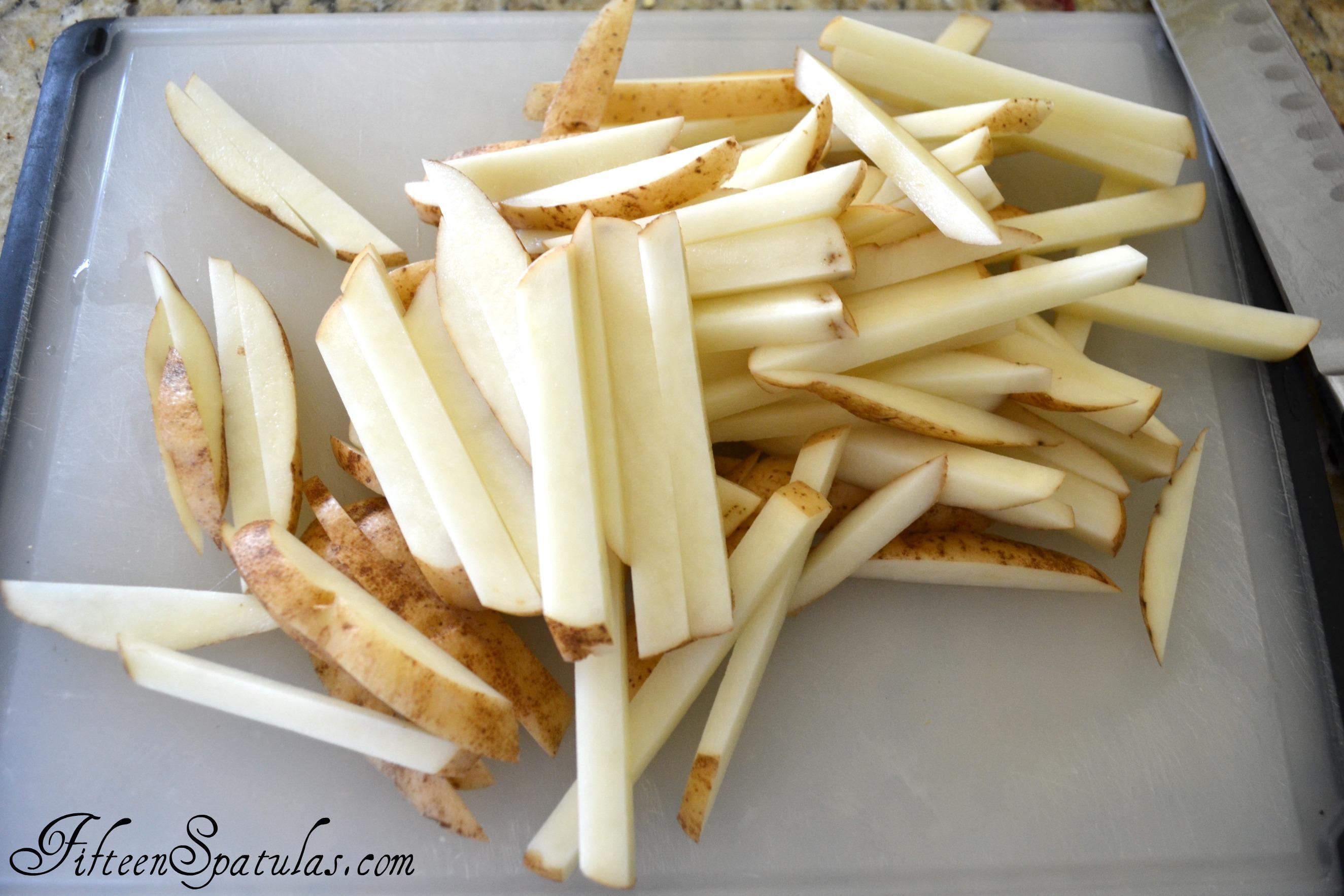 Картошка фри в домашних условиях пошагово